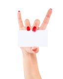 Women hand Stock Image