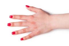 Women hand Stock Photo
