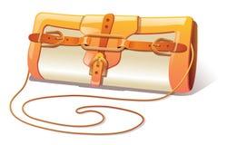 Women Handbag. Orange Women Handbag  illustration Stock Images