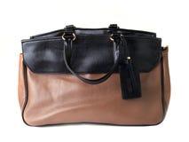 Women handbag isolated on a white Stock Photo