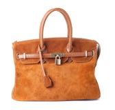 Women handbag isolated on a white Stock Images