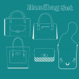 Women handbags Stock Image