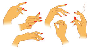 Women hands Royalty Free Stock Photography