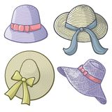 Women hats Royalty Free Stock Photography