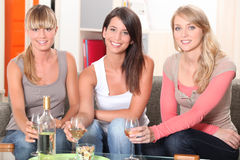 Women having a drink Stock Image