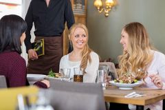 Women Having Meal Together At Coffeeshop Royalty Free Stock Photo