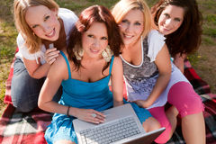 Women having a nice time Royalty Free Stock Photo