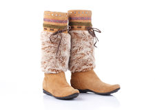 Women high boots Royalty Free Stock Photography
