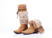 Women high boots Stock Photos