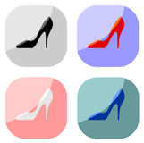 Women high heel Royalty Free Stock Photography