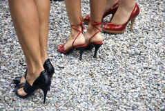 Women in high heels Stock Photos