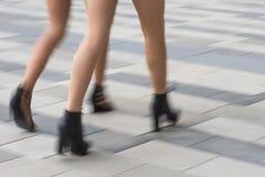Women in high heels Royalty Free Stock Photos