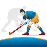 Women hockey player Stock Images