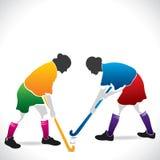 Women hockey players. Stock Royalty Free Stock Image
