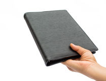 Women hold the document case Stock Photography