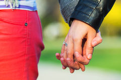 Women holding hands together Stock Photos