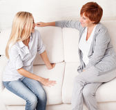 Women at home Royalty Free Stock Images