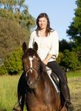 Women on Horseback Royalty Free Stock Photo