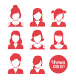 Women icon Royalty Free Stock Images
