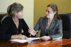 Free Women In A Meeting Royalty Free Stock Photo - 407765