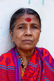 Women. Indian Senior Women in Traditional Look royalty free stock photography
