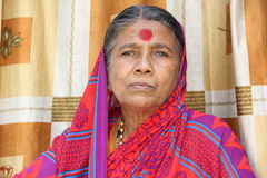 Women. Indian Senior Women in Traditional Look royalty free stock photos