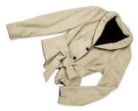 Women jacket with belt Royalty Free Stock Photo