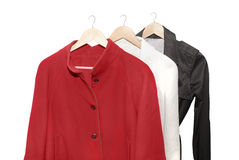 Women jackets Royalty Free Stock Photography