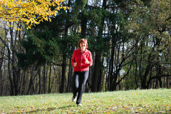 Women jogging Royalty Free Stock Photos