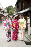 Women in kimonos in Japan Stock Images