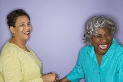 Women laughing. Stock Photography