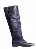 Women leather boot Royalty Free Stock Photo