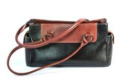 Women leather handbag Stock Photos