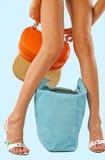Women legs Stock Images
