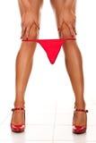 Women legs with underwear Royalty Free Stock Photos