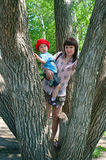 Women with a little boy Royalty Free Stock Photos