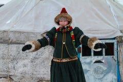 Women Living In Ger, Inner Mongolia, China. Royalty Free Stock Image