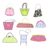 Women love handbags!!! Royalty Free Stock Image