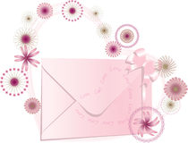 Women love mail Royalty Free Stock Image