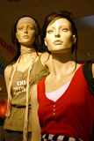 Women Mannequin. Two Women Mannequin (not a human Royalty Free Stock Photo