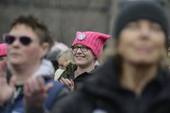 Women March in Toronto. Stock Photos