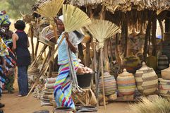 Women  at the market, senegal Royalty Free Stock Images