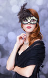 Women in mask. Stock Photo