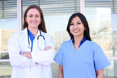 Women Medical Team Partnership Stock Photo