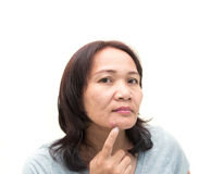 Women middle aged Royalty Free Stock Photos