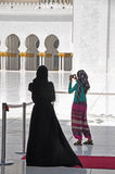 Women in mosque Royalty Free Stock Image