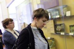 Women in museum Stock Image