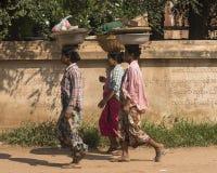 Women in Myanmar Royalty Free Stock Photos