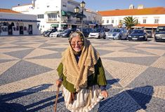 Women of Nazare Royalty Free Stock Images