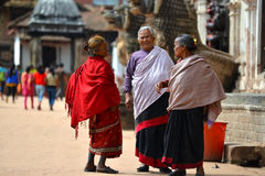 Women from Nepal Royalty Free Stock Images